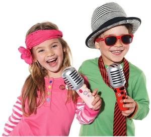 2 kids mic